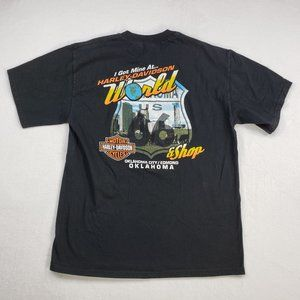 Harley Davidson mens Large Oklahoma City T-shirt